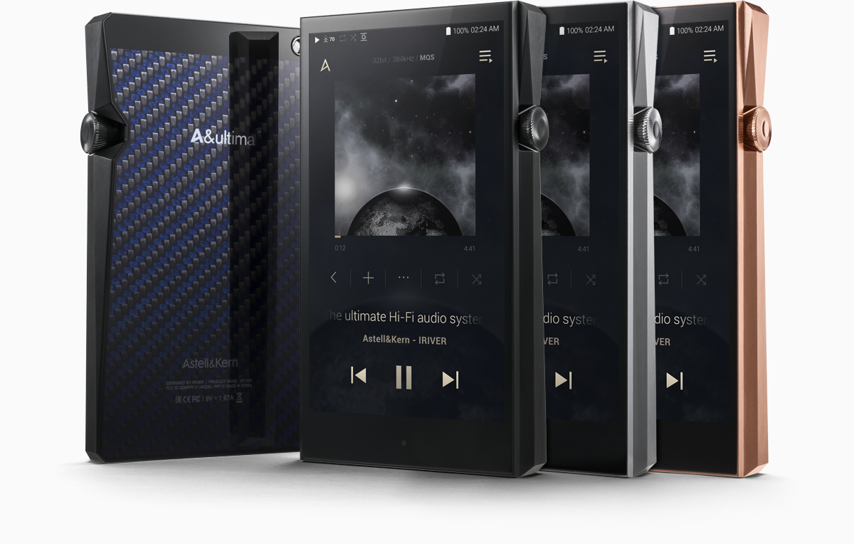 A&ultima SP1000 High-Resolution Portable Music Player