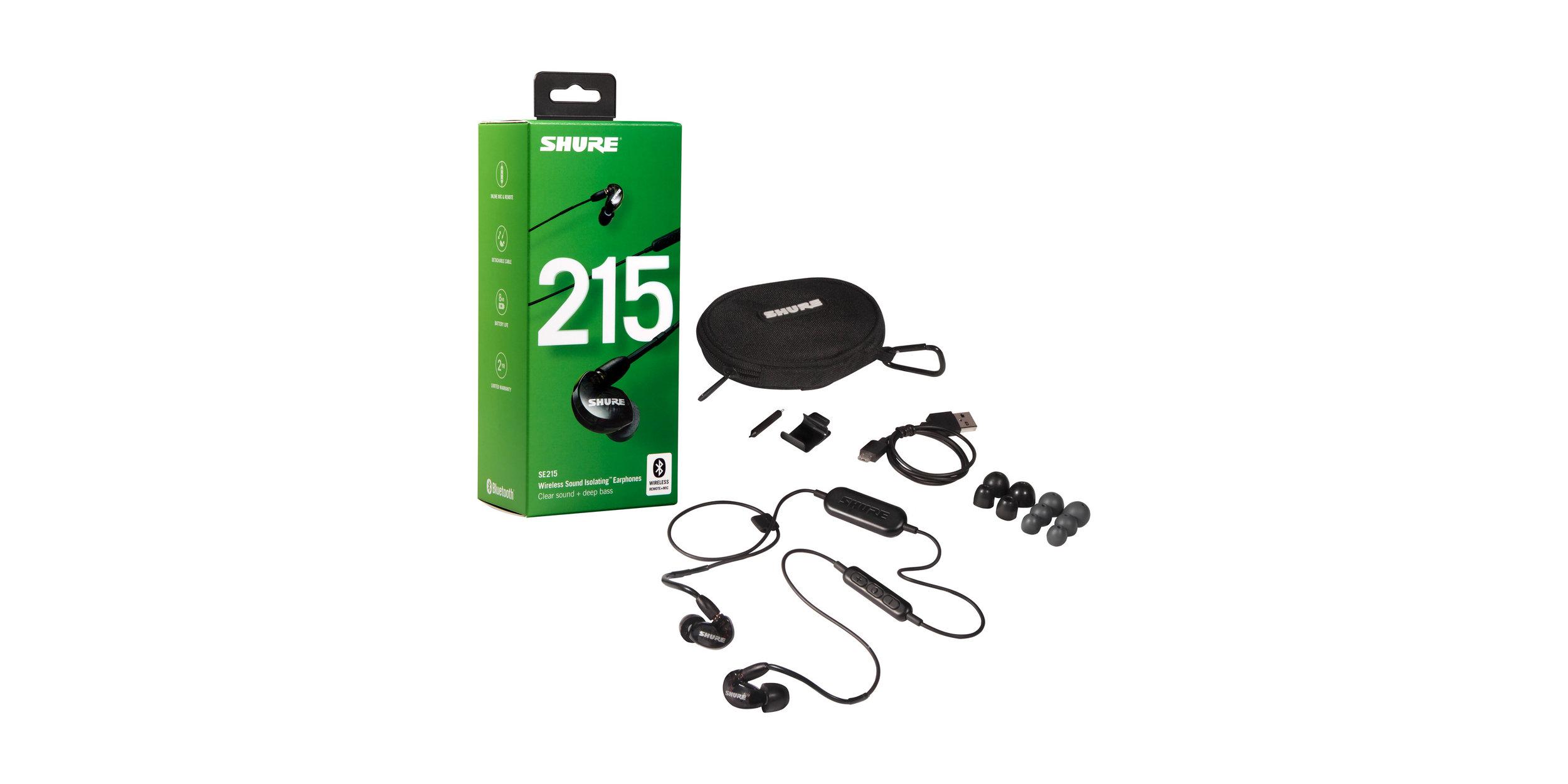 e25d6b42db3 Shure SE215 Wireless — Earphone & Headphone Specialty | Headfoneshop ...