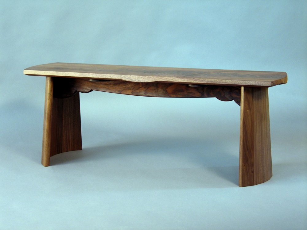 Cooper bench- walnut