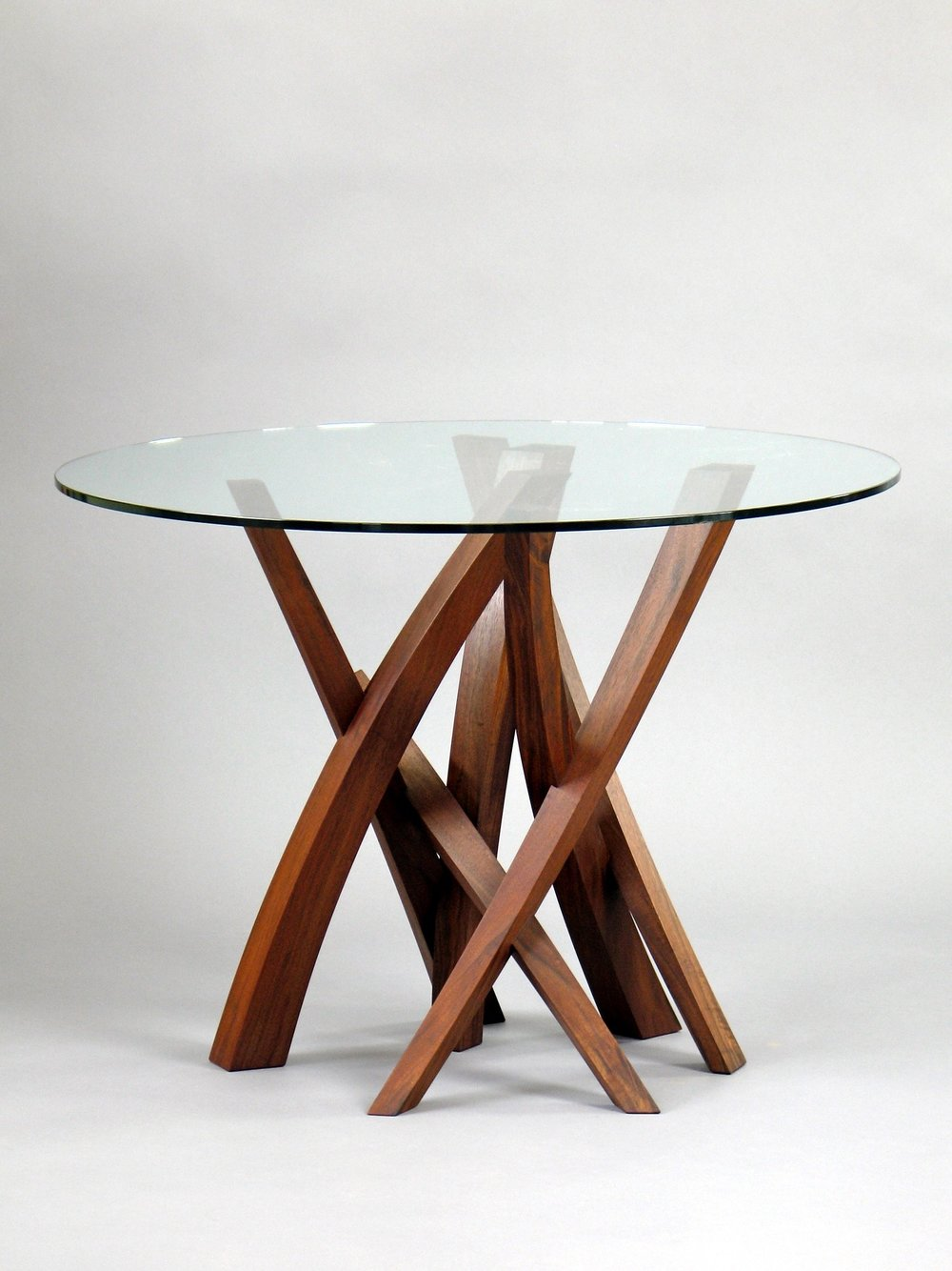 Laguna 1 - walnut, glass