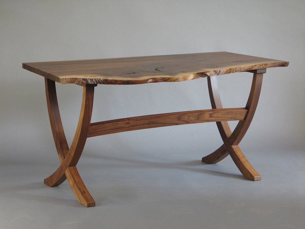 Beck desk- walnut