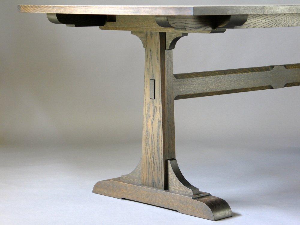 Pedersen dining - leg detail
