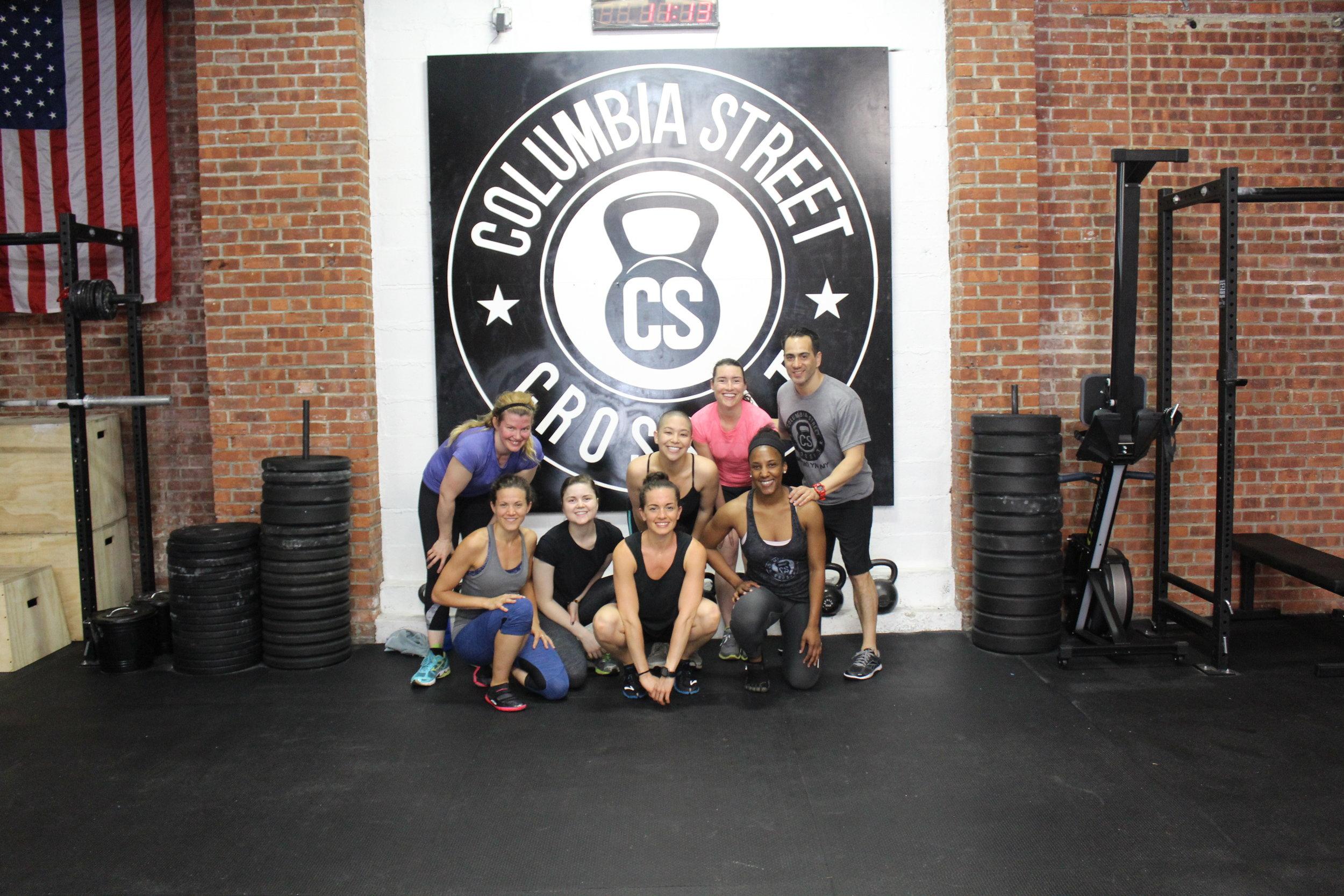 Lululemon Brooklyn + Columbia Street CrossFit