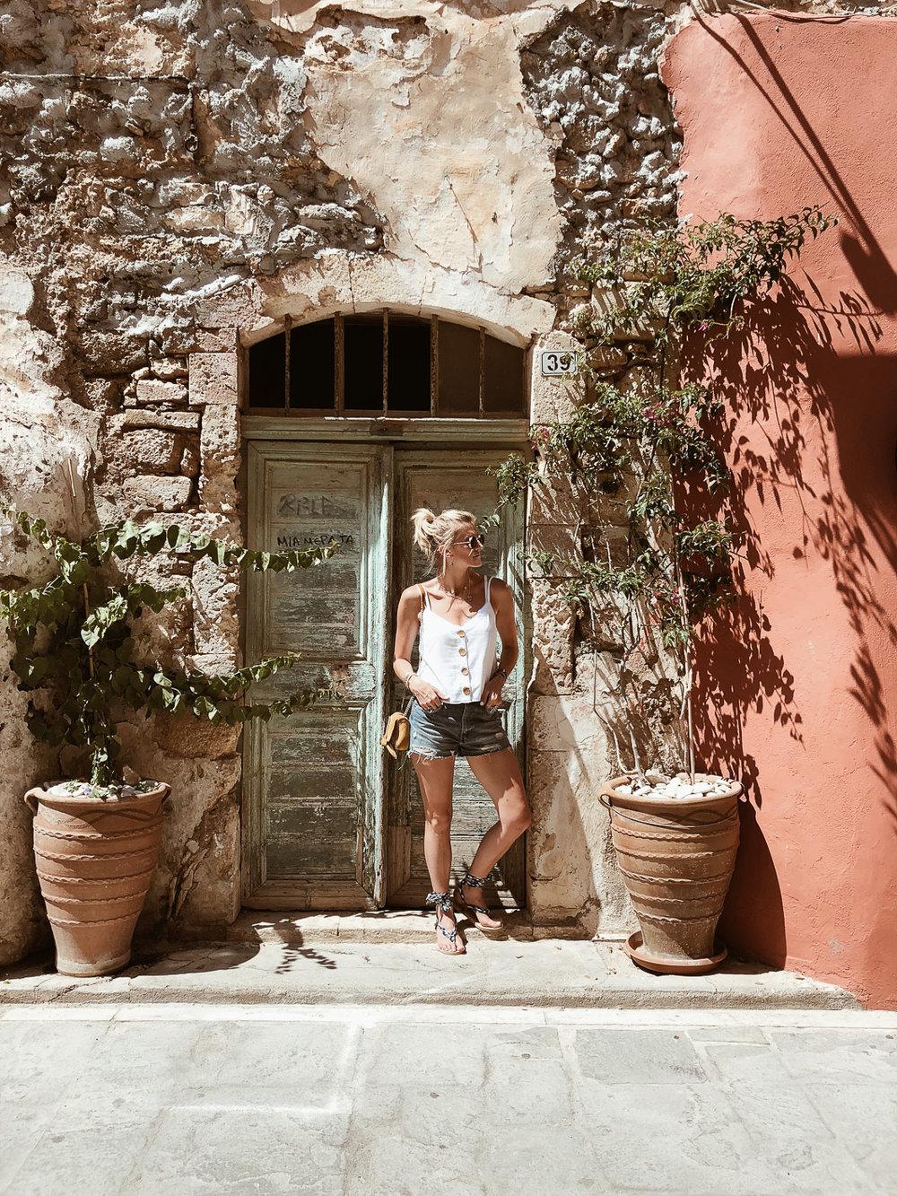 Carnet sauvage - Blog voyage Crète, visiter Rethymnon