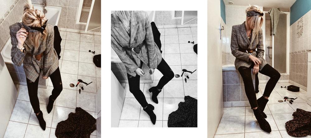 Carnet Sauvage - Blog mode et tendance, porter le blazer à carreaux