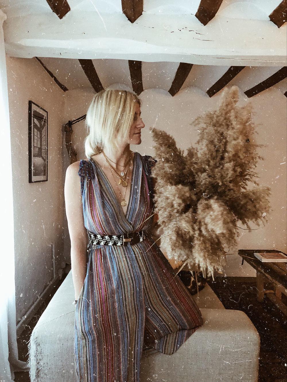 Carnet Sauvage - Blog mode femme, idée look, combinaison rayée