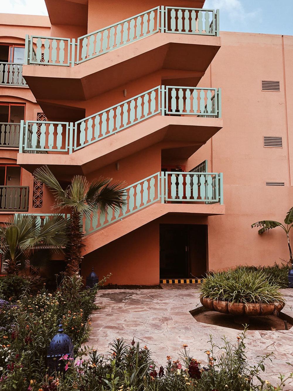 Carnet Sauvage - Blog voyage Marrakech, loger au Méridien