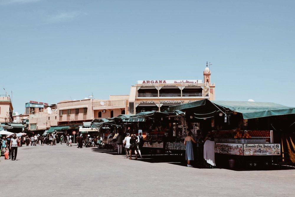 Carnet Sauvage - Blog voyage Marrakech, visiter la medina