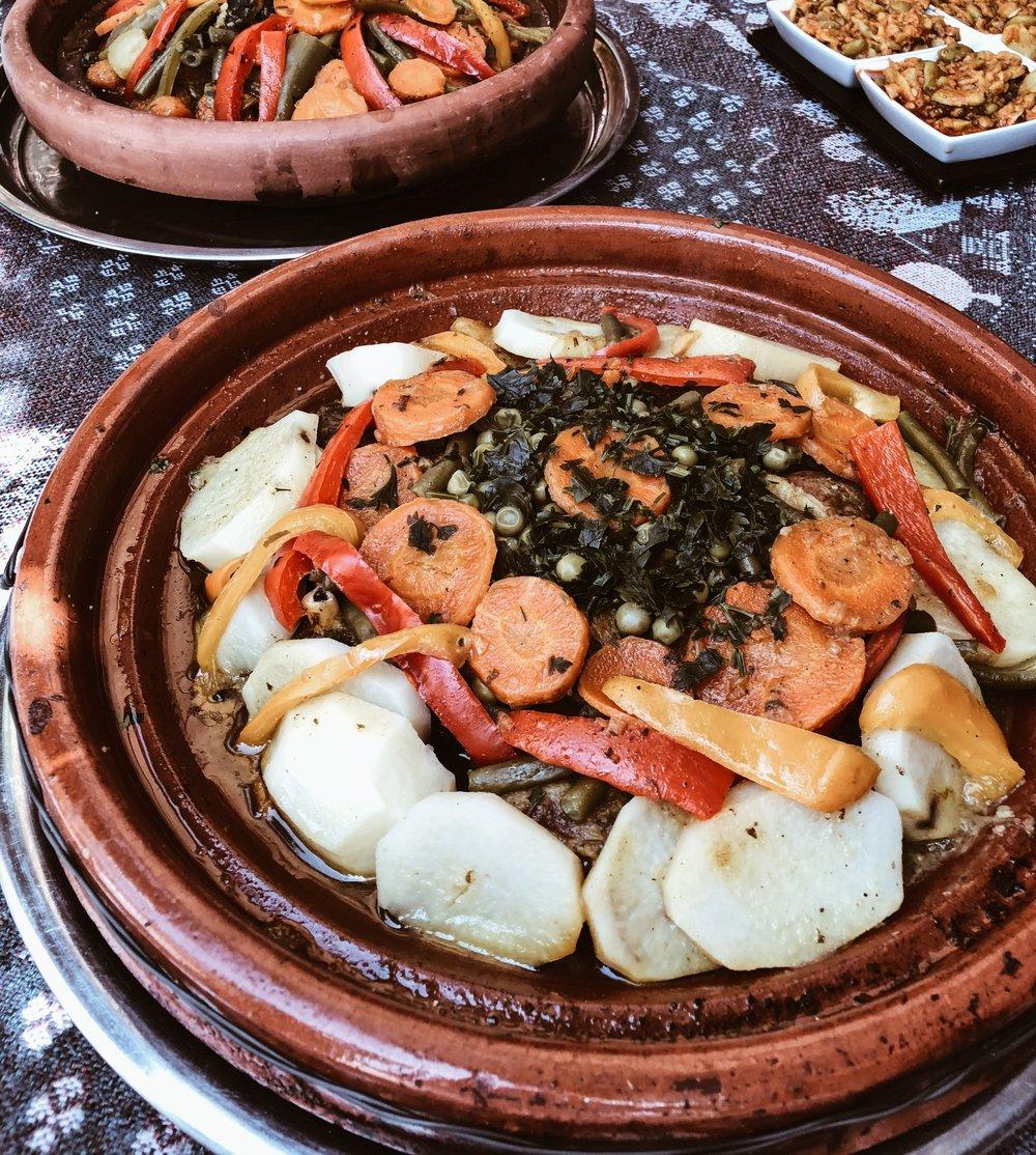 Carnet Sauvage - Blog voyage Marrakech, déjeuner au café atay
