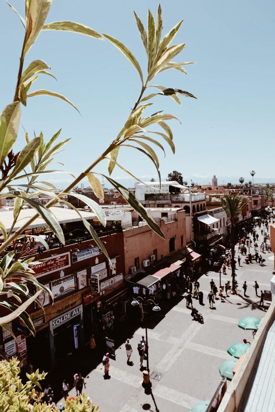 Carnet Sauvage - Blog voyage Marrakech, visiter la médina