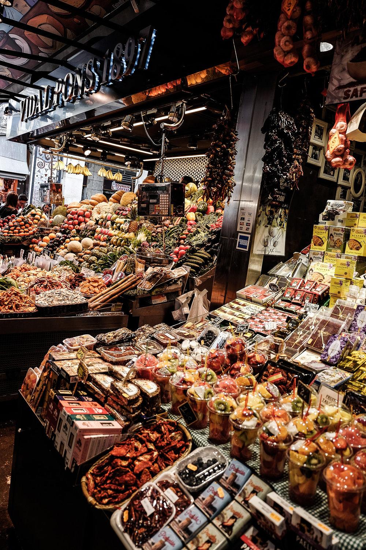 Carnet Sauvage - Blog voyages Barcelone, city trip guide, la boqueria