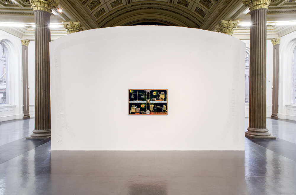 Aaron Angell   Installation view  GoMA  Glasgow  2017