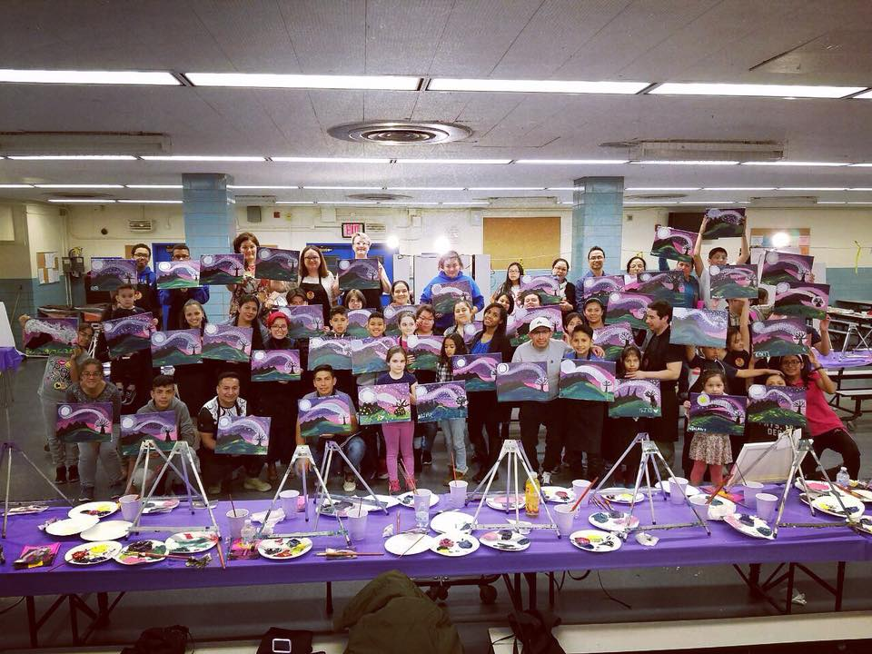NYCDOE Approved Vendor - Nothing brings a community together like one of our Art Workshops!!!  These are great ideas for Title 1's, Team Builders and used as Art Therapy Techniques.