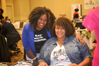 The Natural Travelista & Owner of Global Couture at the Midwest Natural Hair Expo