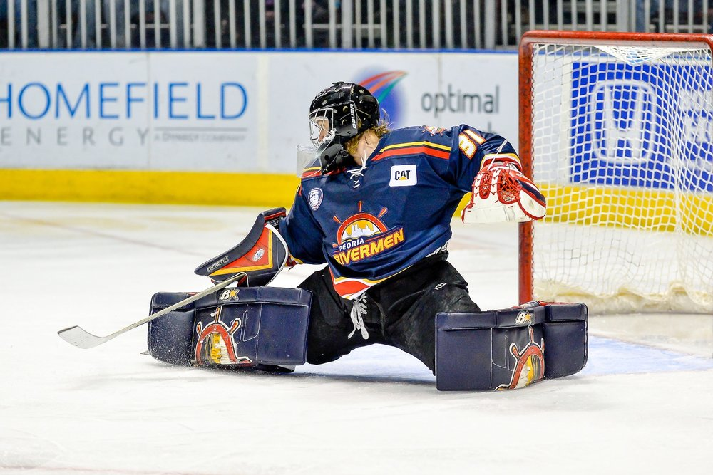 Kyle Rank - BIRTH DATE: 8/13/1987 BIRTHPLACE: Islip, NYCurrent Team -Peoria Rivermen Kyle Rank is an American professional ice hockey goaltender. He is currently playing for the Peoria Rivermen of the Southern Professional Hockey League (SPHL). Rank attended the Bentley University from 2008 to 2012 where he played NCAA Division I college hockey with the Bentley Falcons men's ice hockey team[1] before turning profession with the Knoxville Ice Bears of the SPHL. Set league records in Wins and Save Percentage in a season while playing for Peoria.