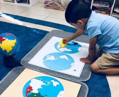 Cultural - Cultural activities expose the child to the basics in Geography, History, and Sciences. Music, Art, Culture, Food, and Movement are part of the integrated cultural curriculum.