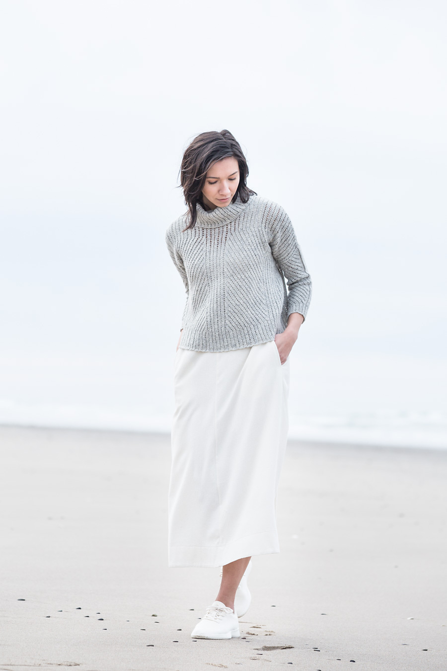TENSILE  pullover  | Photograph by Jared Flood, courtesy of Brooklyn Tweed