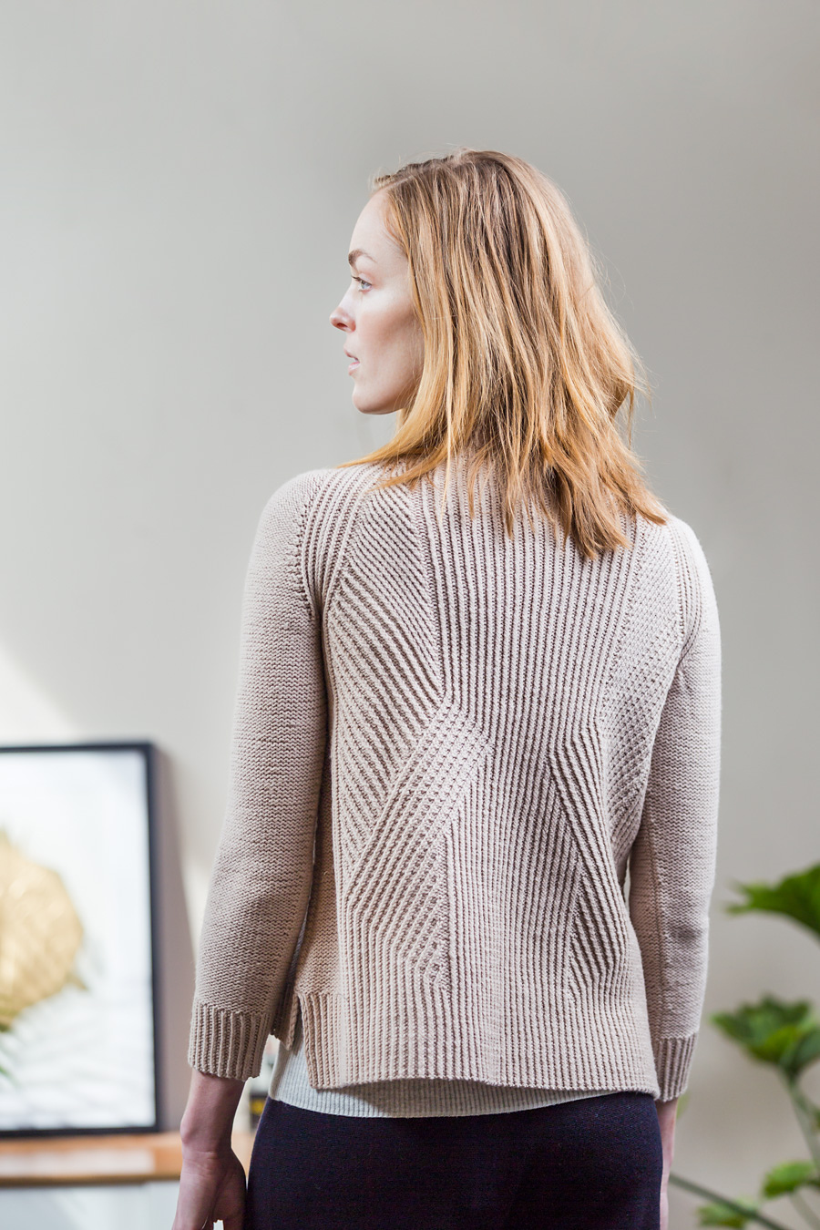 DIVIDE  pullover  | Photograph by Jared Flood, courtesy of Brooklyn Tweed