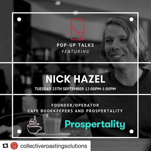 Nick looking forward to hanging out and sharing some insights @collectiveroastingsolutions next week!