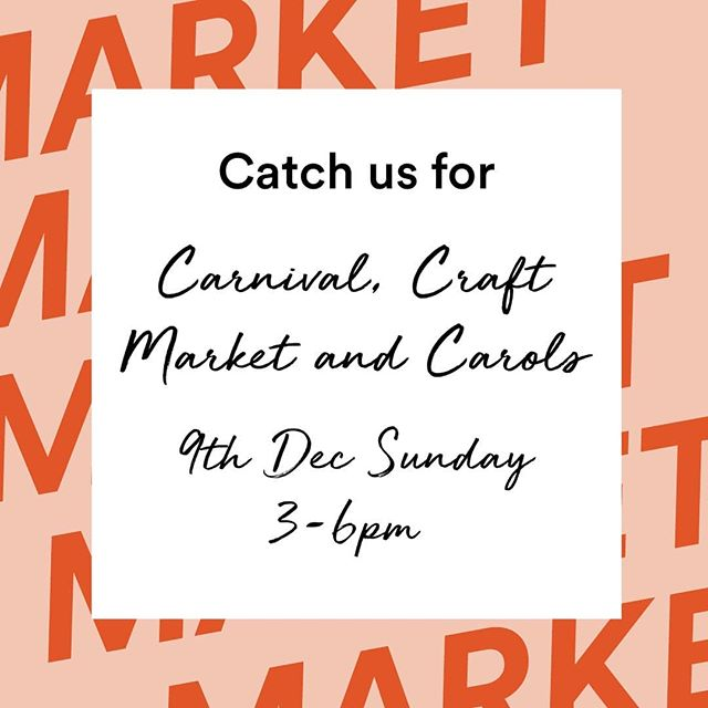 This Sunday! Come visit us and a bunch of other special makers ❤ crafts, food and bevvy at Narre Warren Baptist Church Christmas Market from 3 - 6pm!  See you there!