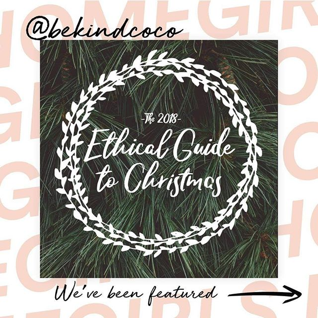 We've been featured! Your exclusive guide to all things ethical gifting. Link in bio 🌲