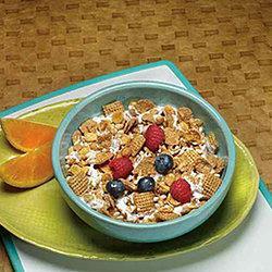 Crunchy cinnamon Cereal