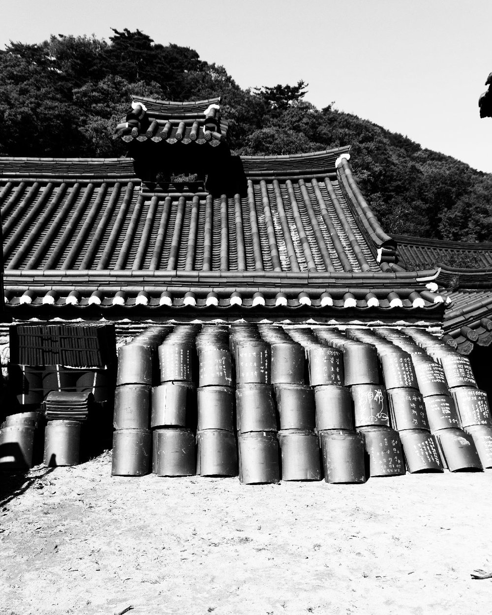 Residence for monks, Songgwangsa temple / 송광사 하사당 / 松廣寺 下舍堂