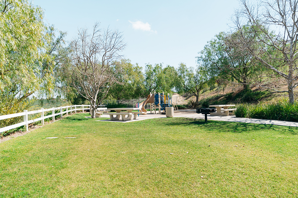 Multiple parks are scattered throughout the community,