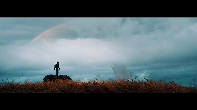 EXT. ATLAS MINOR - DUSK  PULL BACK as Kainoa comes to a clearing, looking out towards the horizon over the planet's barren landscape for what lies ahead.  #KālewaTheFilm #DaFuture #Ohina18 @OhinaShowcase #OhinaShowcase @OhinaLabs #OhinaLabs @OhinaFilms #OhinaFilms @NellaMediaGroup #NMGnetwork #NMGgrowth