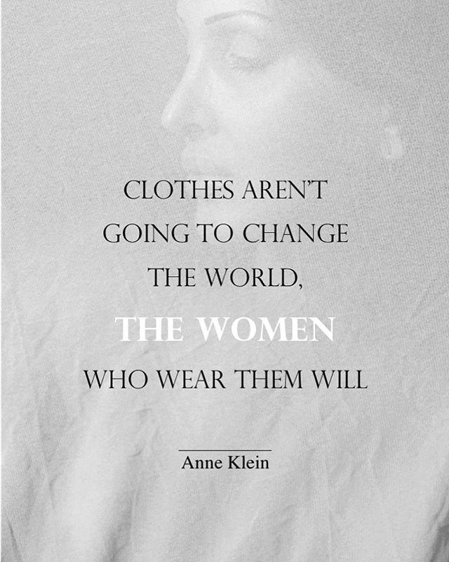 It's up to us to set an example and help create a more conscious fashion world. #fashionrevolution #sustainablefashion #slowfashion #ecofashion #ethicalfashion #quote #fashionindustry #conciousconsumer #womenempowerment #womenswear