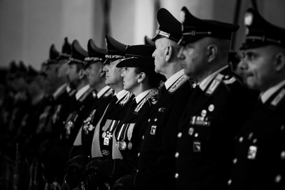 Carabinieri during an official event