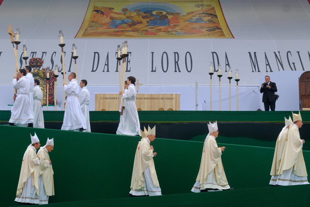 Pope Francis in Bologna
