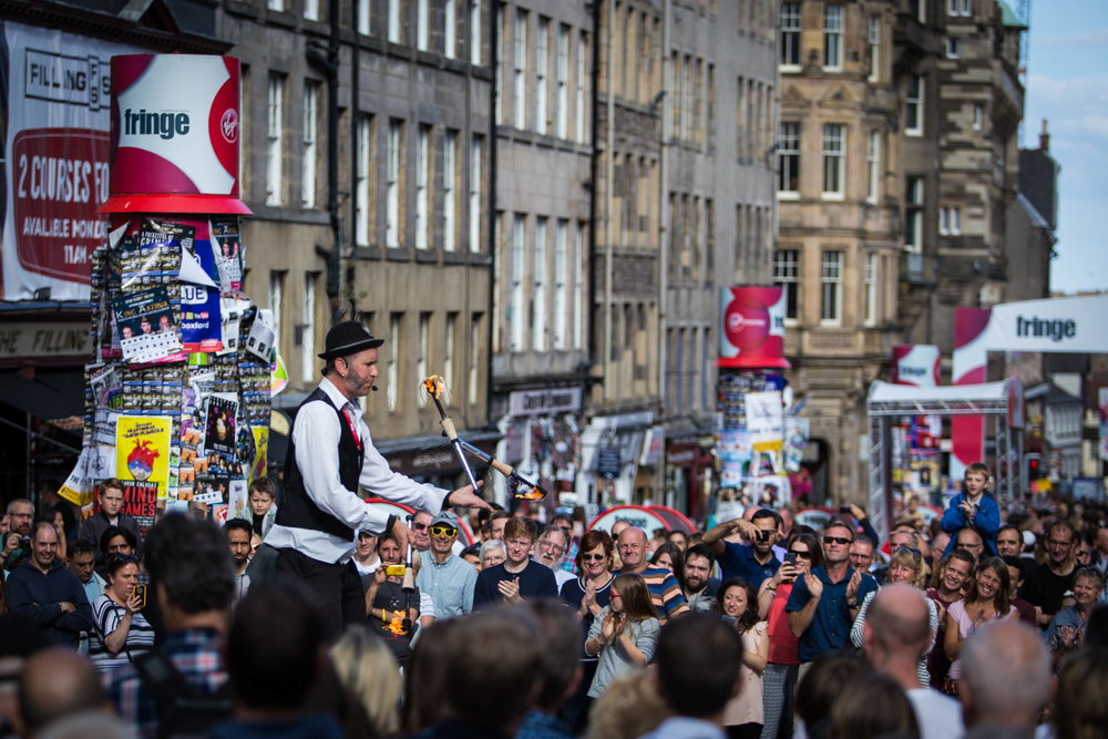 The 2016 Edinburgh Festival Fringe