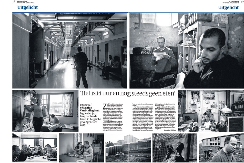 PRISONS for De Volkskrant