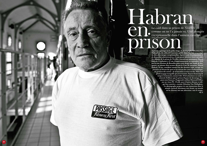PRISONS for Le Soir Magazine 6 pages