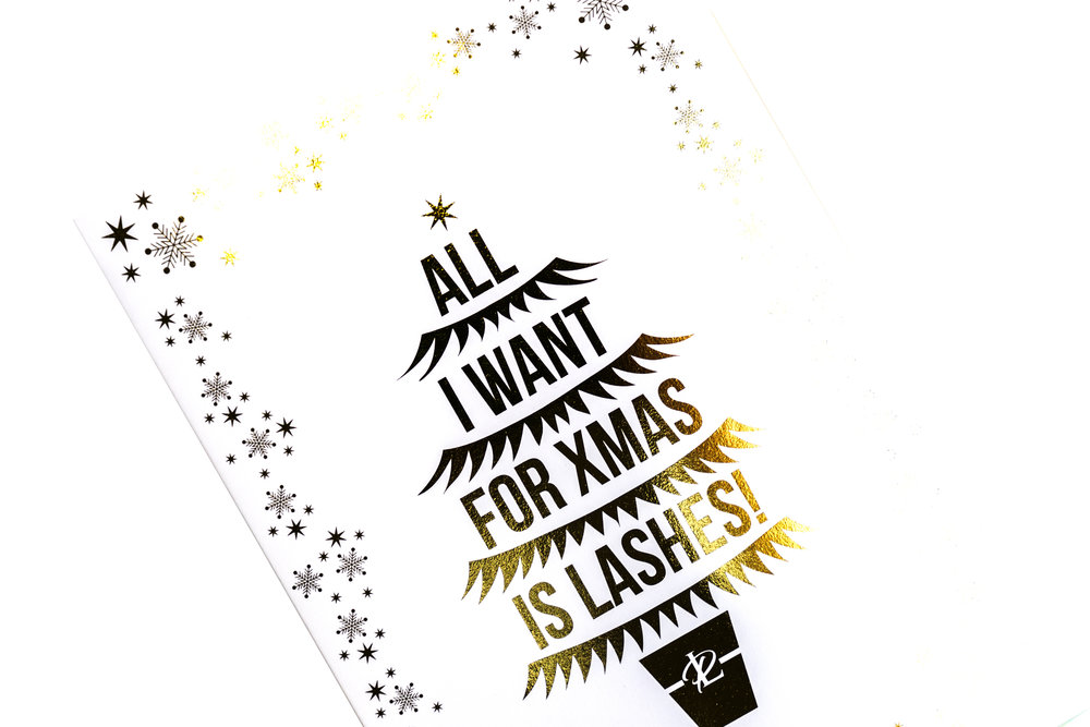 London Lash Pro Xmas card