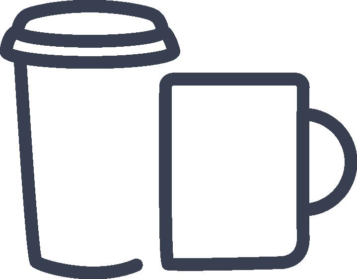 cup and mug icon