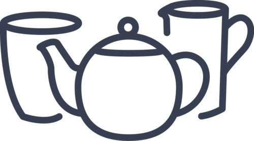 teapot, vase and jug icon