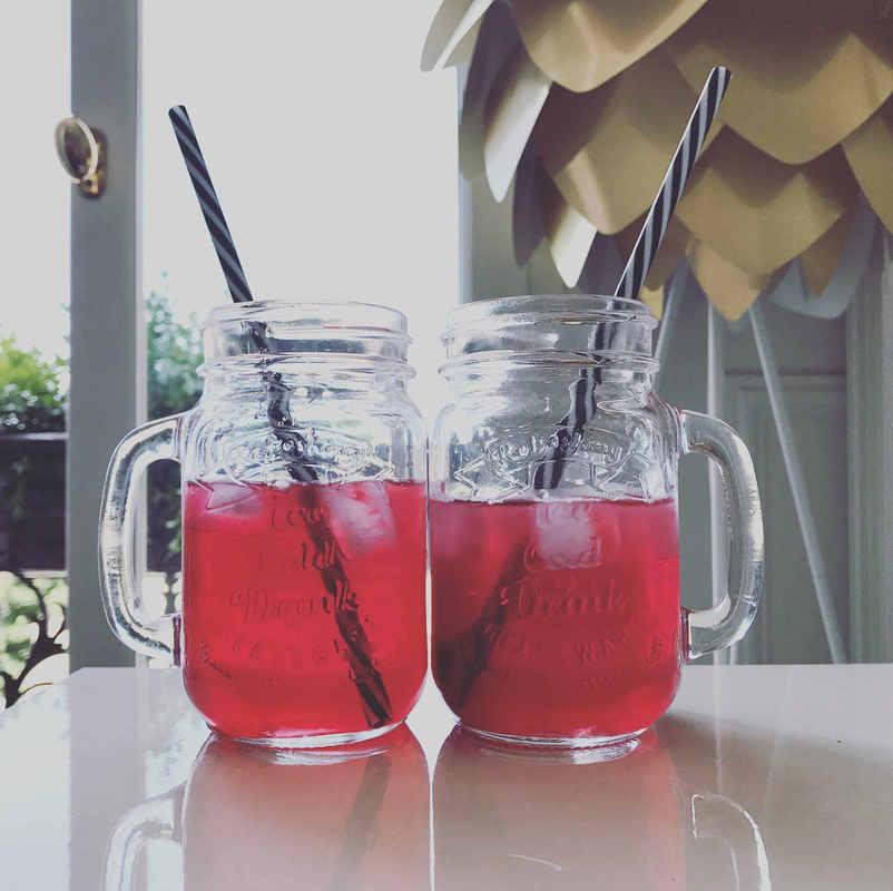 Detox Ice tea.