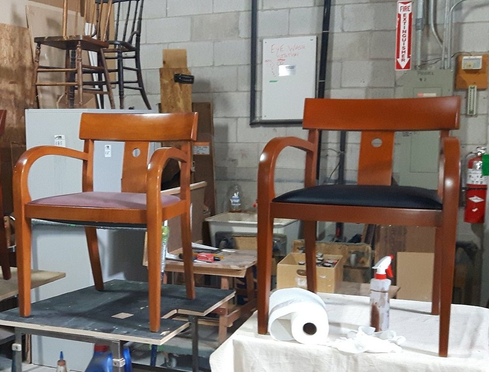 TUP DEACON CHAIRS KILHAUER REFINISHED SIDE BY SIDE.jpg