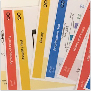 Prototyping IBM Design Thinking Method Cards -