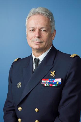 Arnaud Coustillière - Vice Admiral