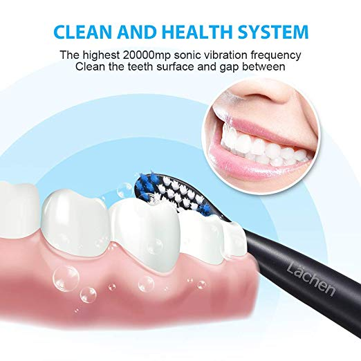 ELECTRIC TOOTHBRUSH WITH REPLACEMENT HEADS FOR 14.99