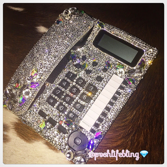 couture crystal desk phone poshlifebling khloe and lamar.JPG