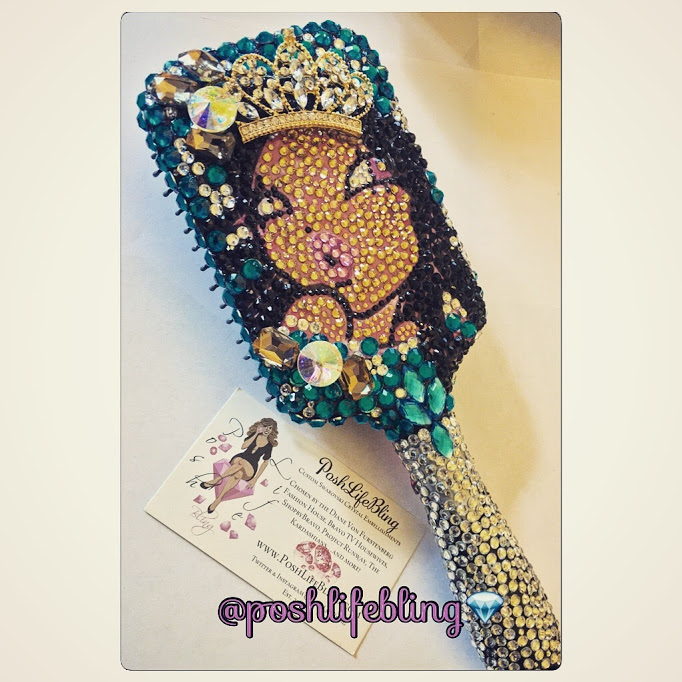 Kristin crystal bling custom hairbrush.JPG