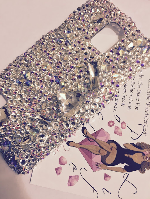 crystal showers bling cell phone case poshlifebling.jpg