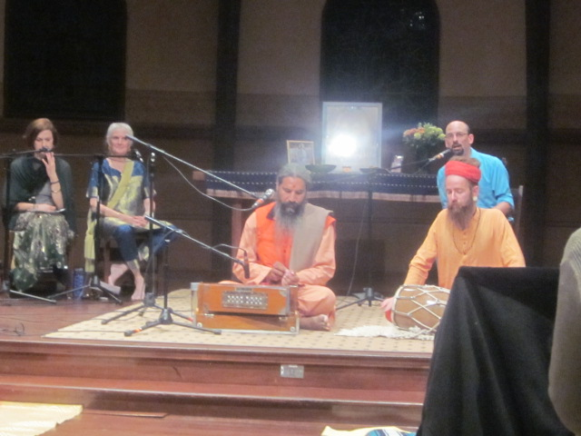 Swamiji's first visit, September 2014