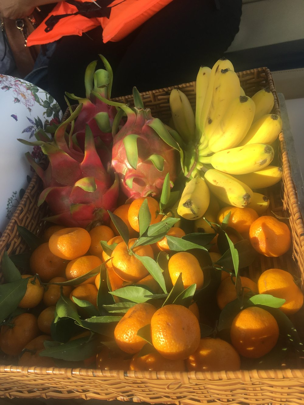 Tropical fruits from the Mekong Delta
