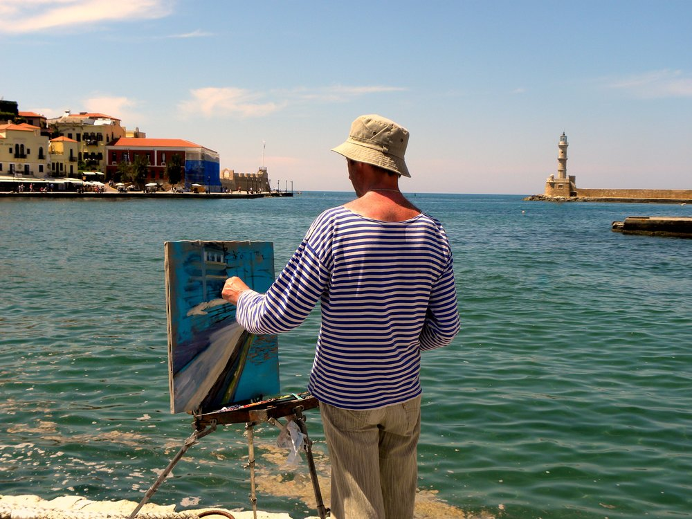 For example, going out for Plein Air painting is not really inviting, and quite some times it is a very taxing endeavor to do so. Having purpose behind what you are doing makes it easier to do daunting challenges like this. Image: Heinz Klier