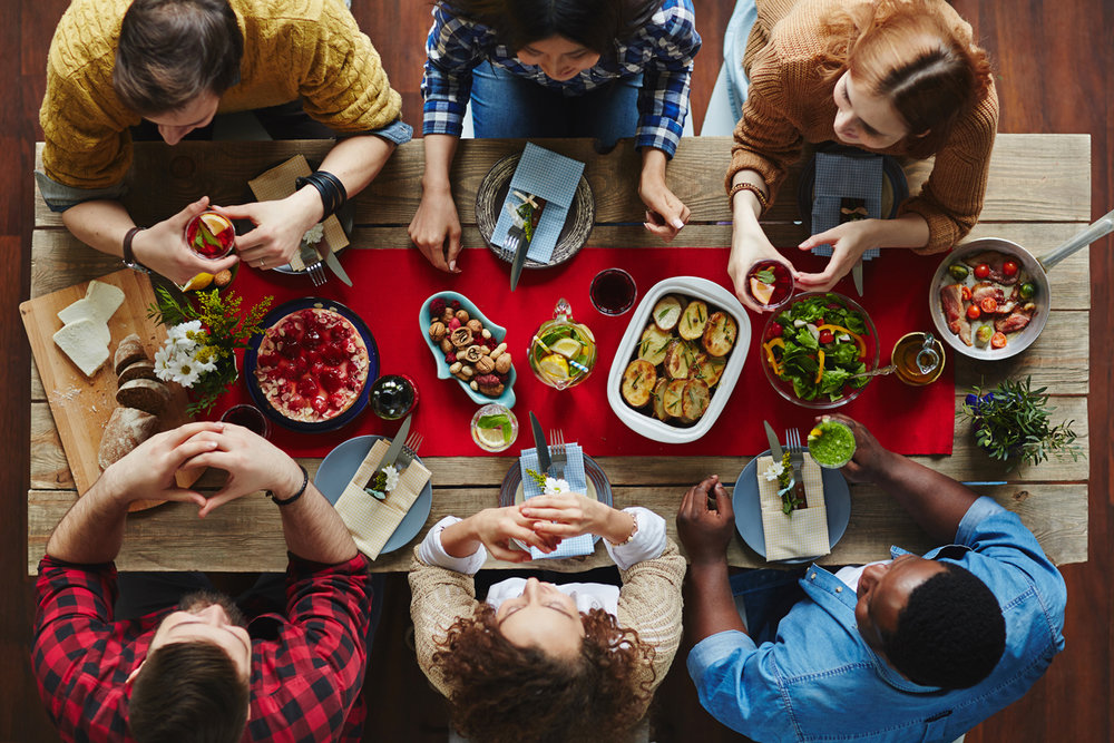 Civil Eats - Can Dinner Parties Make America Great Again?